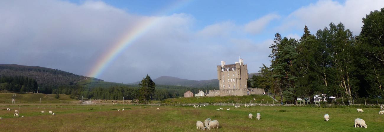Braemar Castle - one of many local attractions