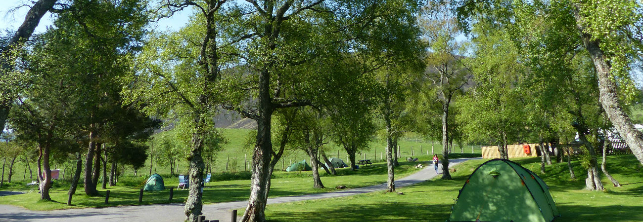 Camping, Caravanning and Camping Pods at Braemar Caravan Park