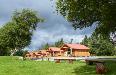 Get away from it all - Mid week break in Braemar Caravan Park Camping pods